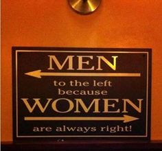 Sorry men!