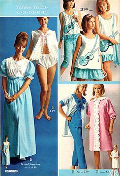 SEARS catalog 1966 ... sleepwear