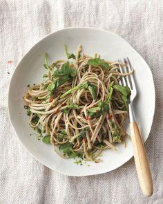 Watercress Pesto Pasta Recipe