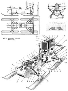 Боевые аэросани РФ-8-ГАЗ-98