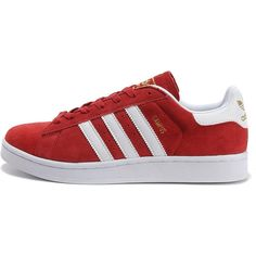 Adidas Originals Campus Sneaker in Red as seen on Justin Timberlake