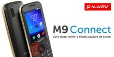 Allview a lansat M9 Connect un feature phone cu buton SOS