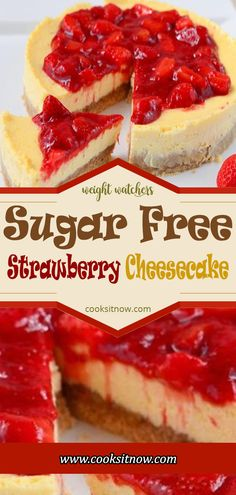 Sugar-free cheesecake pudding mix and sliced fresh strawberries make a light and tasty no-bake pie with layers of creamy filling and bright red berries. Diabetic Desserts, Low Carb Desserts, Low Carb Recipes, Baking Desserts, Cheese Recipes, Diabetic Foods, Baking Recipes, Sugar Free Deserts, Sugar Free Recipes