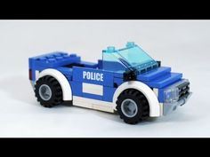 How To Build a LEGO Police Car - YouTube