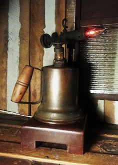 Vintage Blow Torch / Accent Mood Light (Nicely Done)