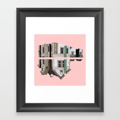 Lover Pigeons - Royal Heart Framed Art Print by salomemika Framed Art Prints, Poster Prints, Posters, Heart Frame, Pink Houses, Drawing Techniques, Pigeon, Online Art, Art Gallery
