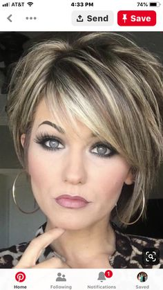 Trending Hairstyles 2019 - Short Layered Hairstyles Hair and Makeup products Short hair with layers Balayage hair Hair color balayage Hair Color Balayage, Hair Highlights, Short Balayage, Platinum Highlights, Ombre Hair, Blonde Highlights On Dark Hair Short, Ombre Balayage, Chunky Highlights, Platinum Blonde