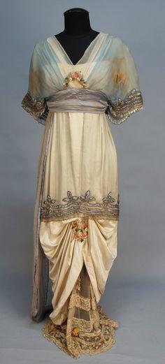 Vestido de 1914 por Lucile.