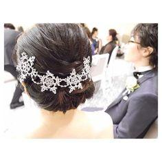 結婚式で実際お使い頂けた filigne第1号✨ 感慨深い瞬間でした