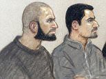 Birmingham men accused of handing money to Brussels bombing suspect appear in court