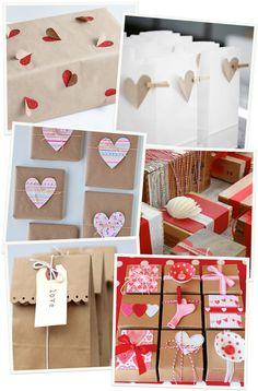 ideas para envolver tus regalos de San Valentín