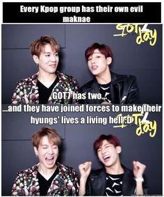 I feel bad for Hyung Line + Youngjae XD | allkpop Meme Center
