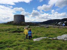 Dublin, Ireland w toddlers! Dalkey Island