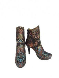 Rockwell Tharp - Handmade Suzani Boots and Handbags