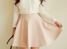 #SKIRT #basic #flare skirt #dahong #best item #파스텔 #로맨틱 #스커트 #다홍 #플레어스커트