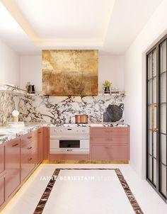 20 Unique Remodel Kitchen Design Ideas For Upgrade This Fall Interior Modern, Home Interior, Interior Design Kitchen, Interior Decorating, Decorating Ideas, Decorating Websites, Kitchen Designs, Classic Kitchen, New Kitchen