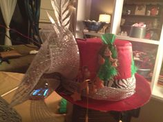 Christmas hat party