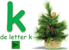 Digibordles: De letter k. http://digibordonderbouw.nl/index.php/taal1/letter/k. Ook veel andere lessen o.a. Visuele discriminatie, rijmen en tellen.
