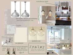Holly Mathis blog - lighting for kitchens.