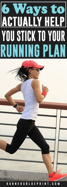 Here are some strategies that can make it easier to stick with a running plan. Incorporate these guidelines to maintain (and improve) your motivation and resolve to keep exercising for the long haul. #running #motivation #fitness #exercise http://www.runnersblueprint.com/stick-to-your-running-plan/