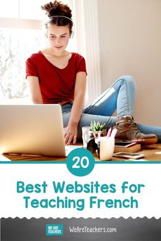 20 Best Websites for Teaching French. Looking for the best websites for teaching French? We break down the best apps and websites for elementary, middle, and high school! #languagelearning #educationalresources #teachingresources #worldlanguages #classroom #classroomideas French Teacher, Teaching French, Teaching Spanish, Teaching Resources, Teaching Ideas, Teaching Second Grade, 2nd Grade Teacher, French Language Learning, Foreign Language