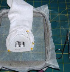 Embroider on Socks | Machine Embroidery Designs | SWAKembroidery.com