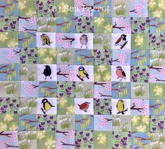 11. The finished patchwork.
