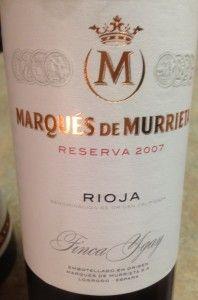 2007 Marqués de Murrieta Reserva