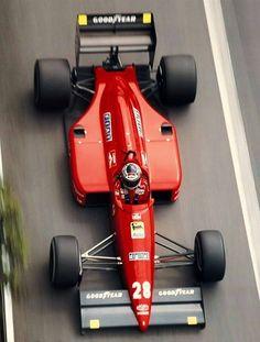 Gerhard Berger, Ferrari 88C, Monte Carlo, GP Monaco 1988