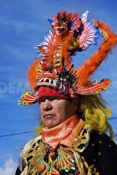 Carnival in Oruro Bolivia DIABLADA 100%BOLIVIANA