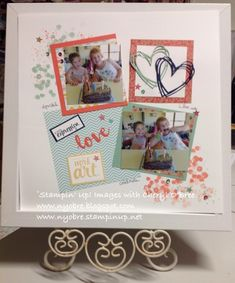Tap & Scrap: Stamps for your Scrap Booking Layouts - Stampin' U...