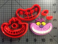 Cheshire Cat Cookie Cutter Set