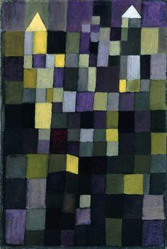 """Architecture"" painted by Paul Klee in 1923 (Staatliche Museen zu Berlin)"