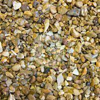 Golden Gravel 10mm- Multi Coloured gravel, perfect for blending into any garden environment