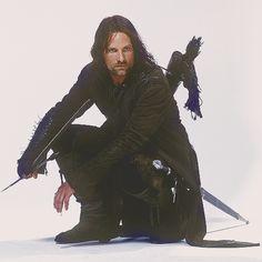 Strider. The Ranger. Aragorn, son of Arathorn. King Elessar.