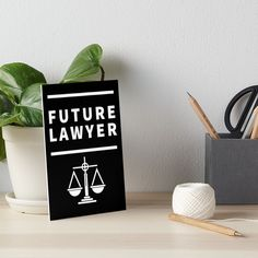 'Future Lawyer - student of law school' Art Board Print by RIVEofficial Table Accessories, Law School, Lawyer, Watercolor Paper, Cool Gifts, Art Boards, Custom Design, Presentation, Student