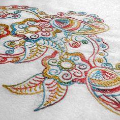 Wrap It Up + FREE Tie Dye Embroidery Pattern
