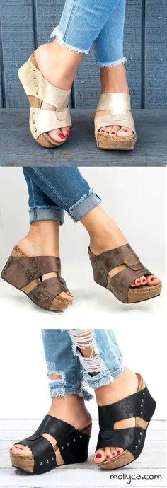womens shoes extra wide to love. Zapatos De Cuña cf79e5db2fde4