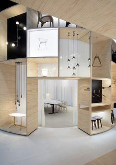 High Design Expo 2018 on Behance Interior Design Exhibition, Museum Exhibition Design, Showroom Design, Exhibition Stands, Exhibition Room, Exhibition Building, Display Design, Store Design, Layout Design