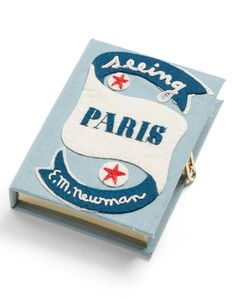 'Seeing Paris' Limited Edition Clutch by Olympia Le-Tan