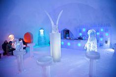 Arctice Ice bar and Ice restaurant | Santa Claus Village