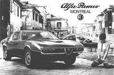 Alfa Romeo Montreal advertising