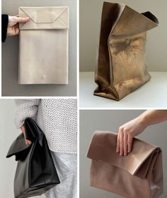 DIY Thursday: Leather lunch bag | creatorsofdesire.com