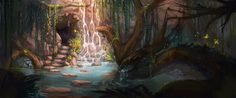 Hideaway, Samantha Holmes on ArtStation at https://www.artstation.com/artwork/hideaway-cf0254d4-1222-45c3-9620-3579af03e2e5