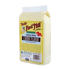 Bob's Red Mill Organic Corn Flour, 24-Ounce (Pack of 4) *** Read more reviews of the product by visiting the link on the image.