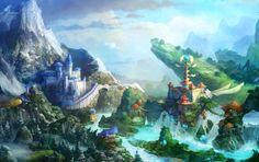 Обои картинки фото prime world, game wallpapers, mmorpg, nival, landscape, fantasy