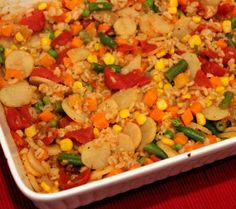 Hearty Vegetarian Barley Casserole