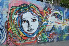 Rio Paris - Jacques On The Wall: Paris - Street Art - De l'autre coté du Canal