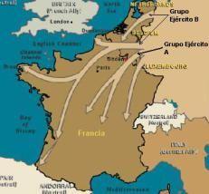 1940 - La Batalla de Francia : Fue unas de las primeras batallas en el transcurso de la Segunda Guerra Mundial que empezó en mayo y acabo en junio de ese mismo año con la derrota francesa a manos del ejercito alemán.