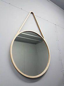 Zrkadlá - Marc Drop Mirror XXL - drevené nástenné zrkadlo - 7060614_
